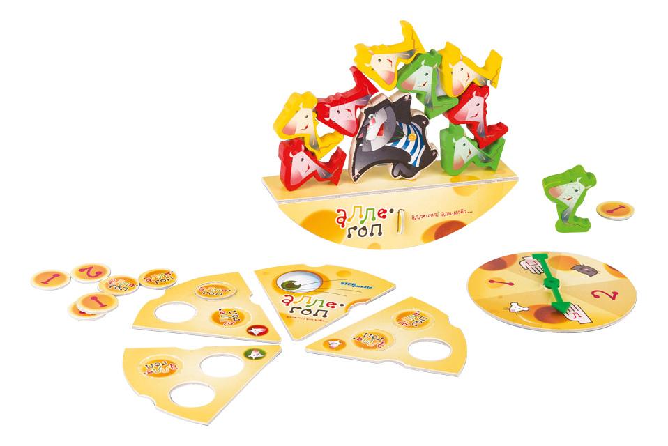 Семейная настольная игра STEP Puzzle Кошки-мышки. Алле-гоп
