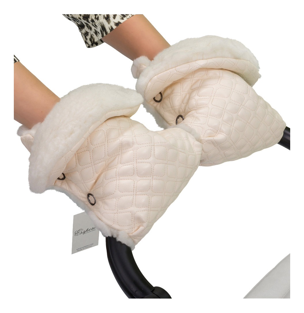 Муфта для рук мамы на детскую коляску Esspero Для коляски Karolina cream