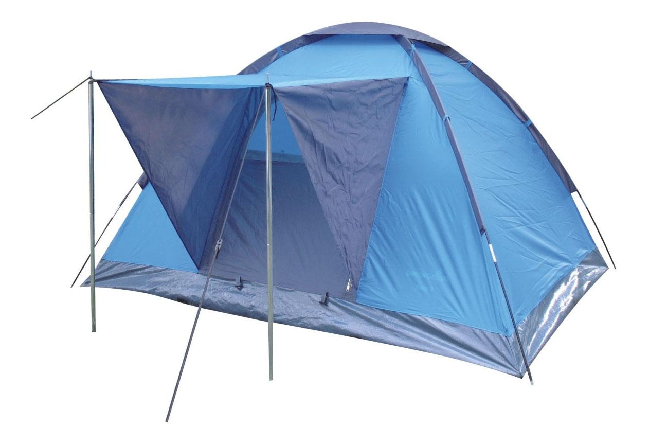 Палатка Green Glade Vero трехместная голубая