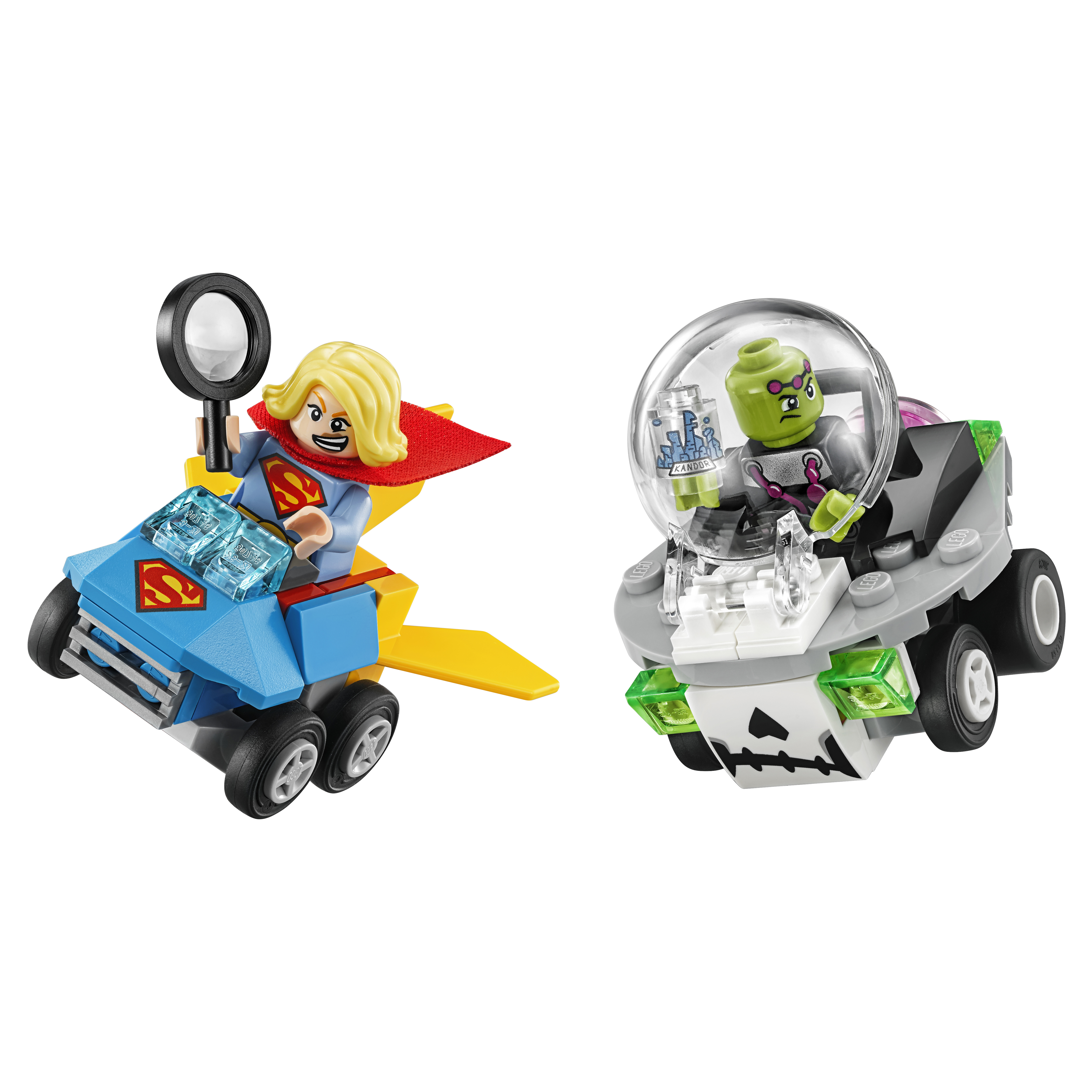 Конструктор LEGO Super Heroes Mighty Micros Супергёрл против Брейниака (76094)