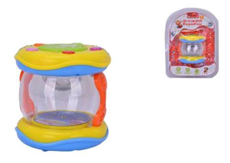 Купить Детский барабан 65167, Барабан игрушечный Shantou Gepai Е-нотка 65167, Детские музыкальные инструменты