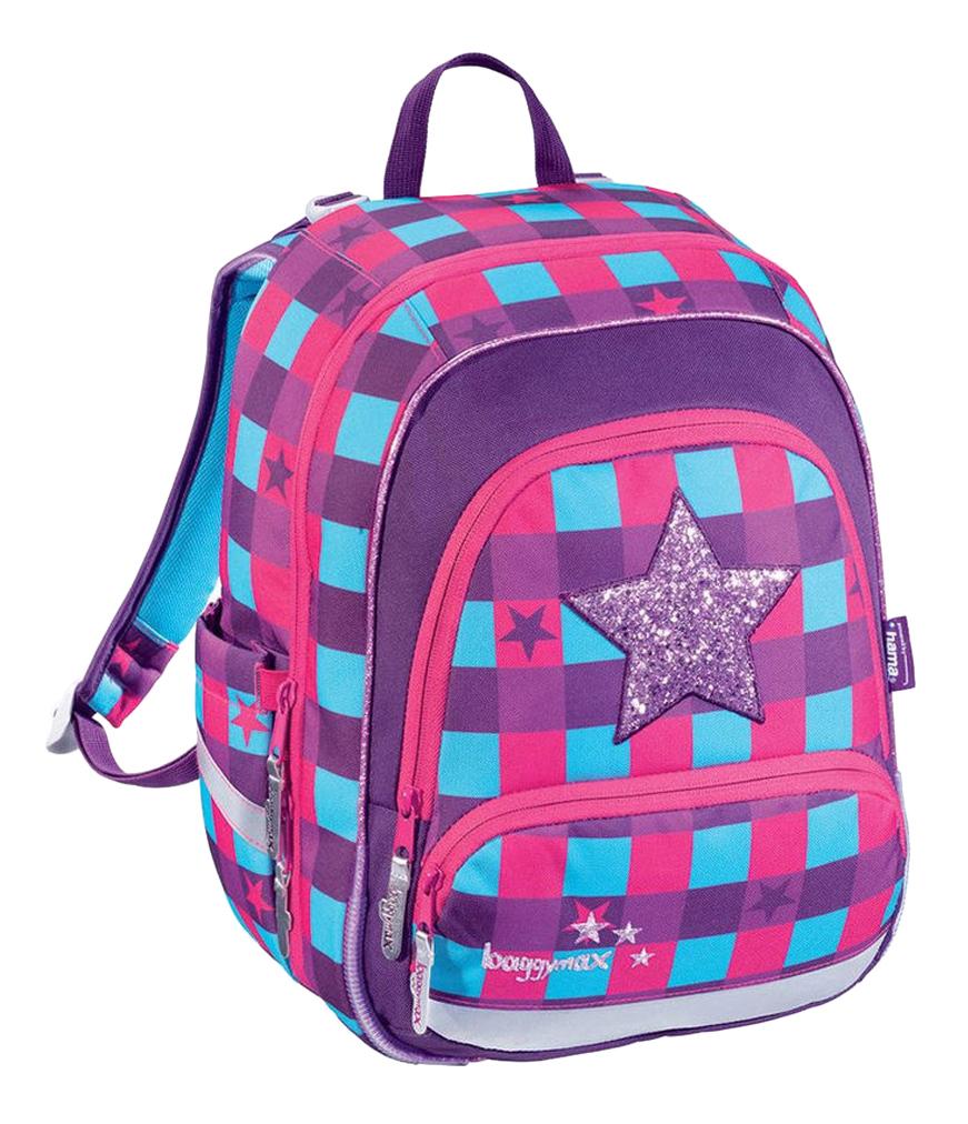 Купить Ранец детский Hama Step by Step BaggyMax Speedy Pink Star 16 л розовый 138533,
