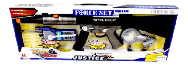 Игровой набор Полиция автомат, рация, наручники Shantou Gepai 34230