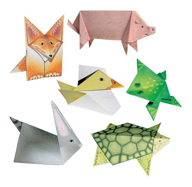 Купить Мое первое оригами ступень 2, Набор для творчества Мое первое Оригами ступень 2 Клевер Р38345, Clever,
