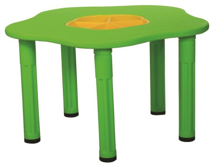 Купить Детский столик Сэнди с системой хранения мелочей King kids, KK_KM1200_G Зеленый, KingKids, Детские столики