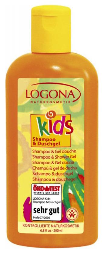 Детский шампунь и гель для душа Logona For kids фото