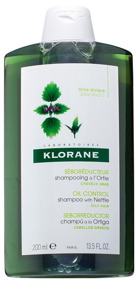 Купить Шампунь Klorane Oily Prone Hair С экстрактом крапивы для жирных волос 200 мл