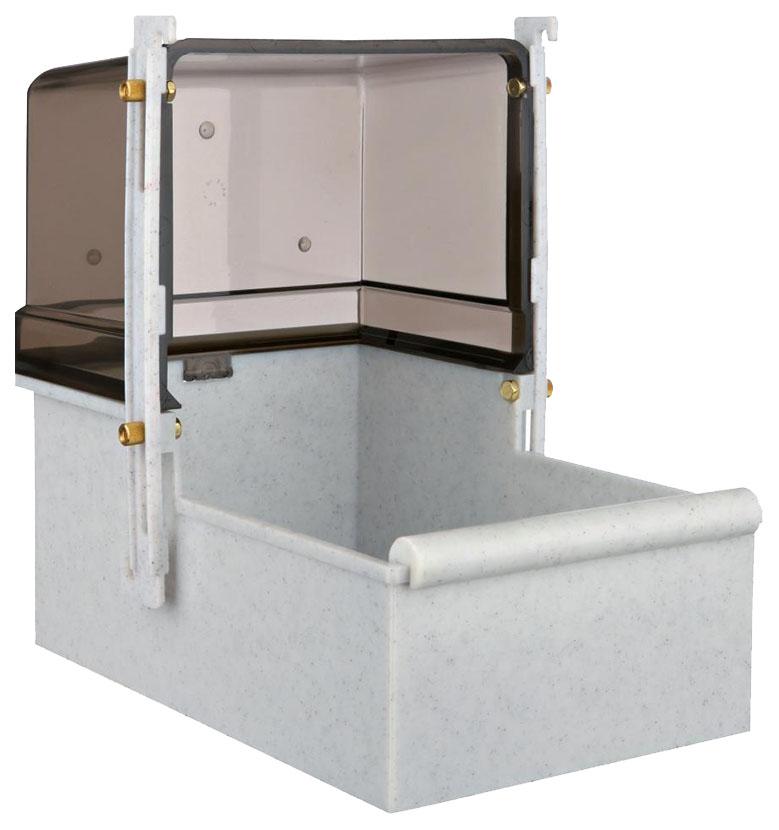 Купалка для птиц Trixie Bath House, размер 16х26х22см,