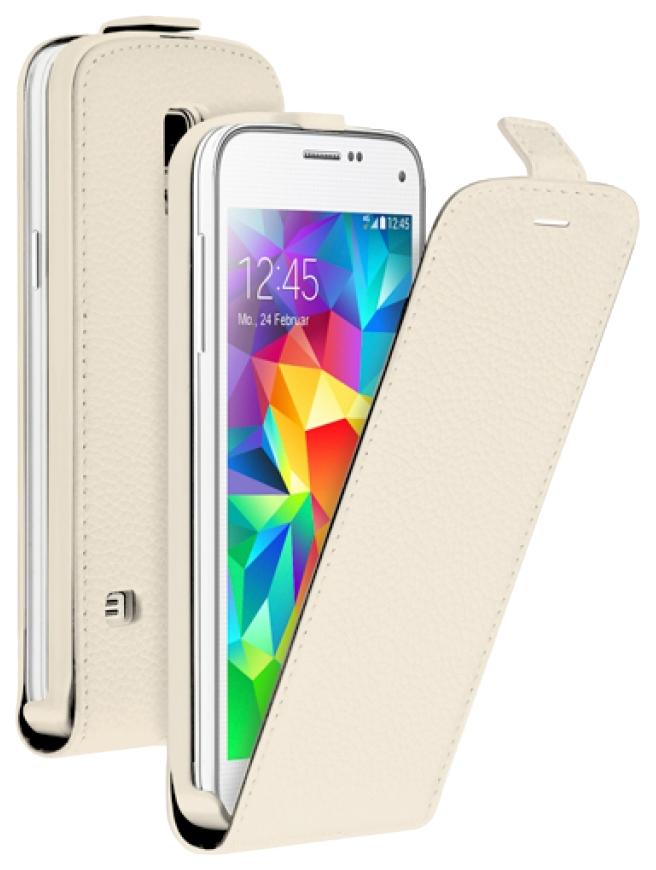Чехол для смартфона Deppa Flip Cover для Samsung Galaxy S5 mini Белый