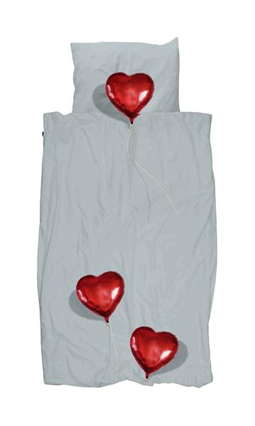 Комплект детского постельного белья Snurk Сердце В Облаках 1 наволочка