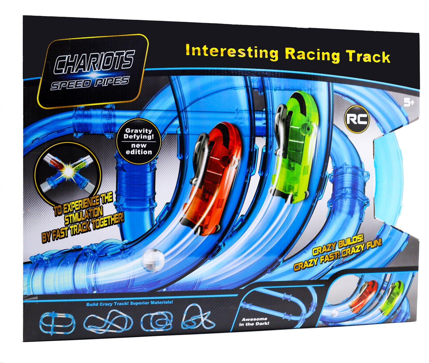 Купить Автотрек Наша игрушка Скоростной тоннель предметов 61, Детские автотреки
