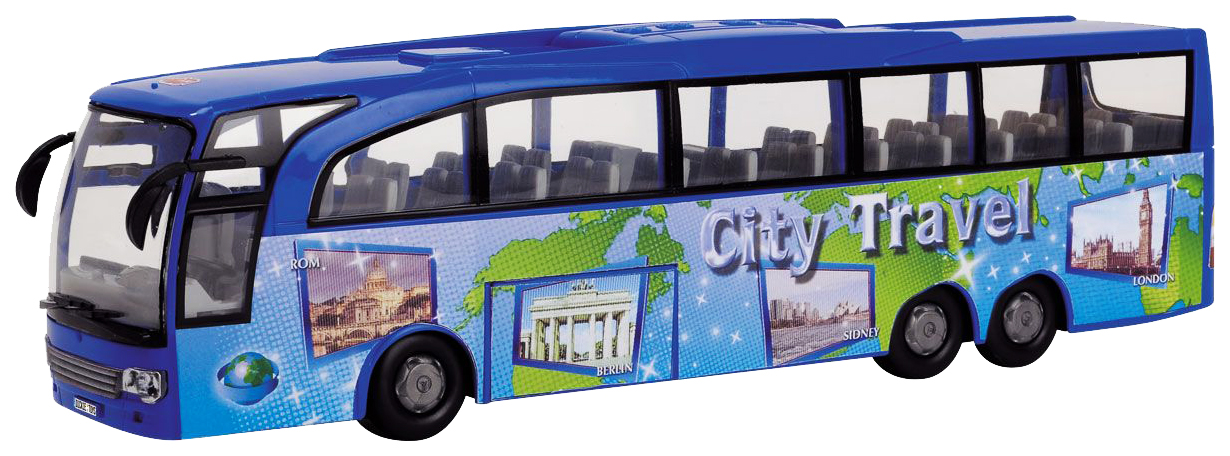Спецтехника Dickie Toys Toys туристический автобус синий 3745005 фото