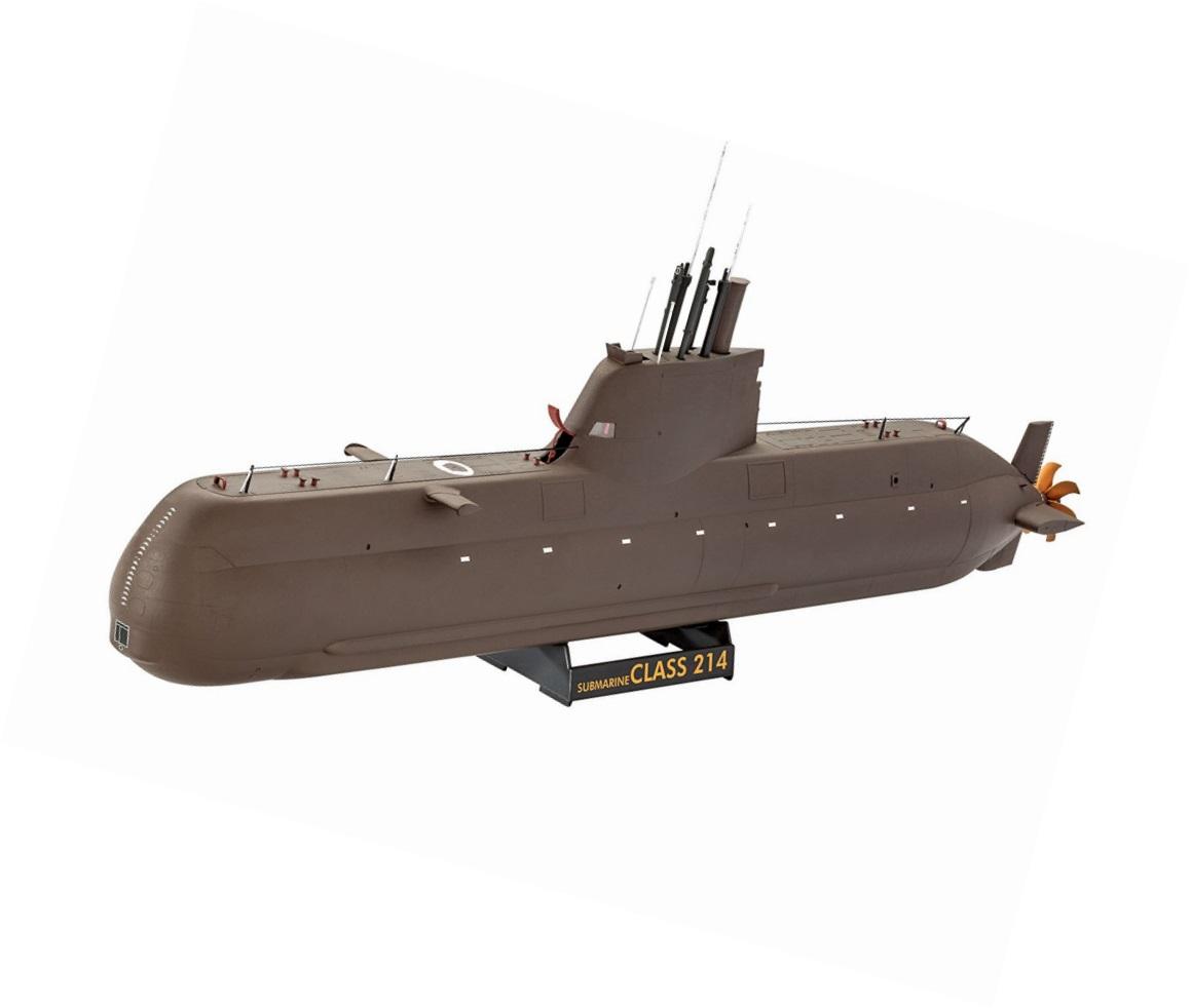 Сборная модель подводная лодка типа 214 Revell 05153R фото
