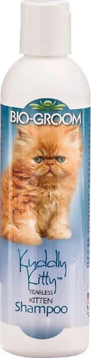 Шампунь для котят Bio-Groom Kuddly Kitty бенз слез, универсальный, алоэ вера, 355 мл