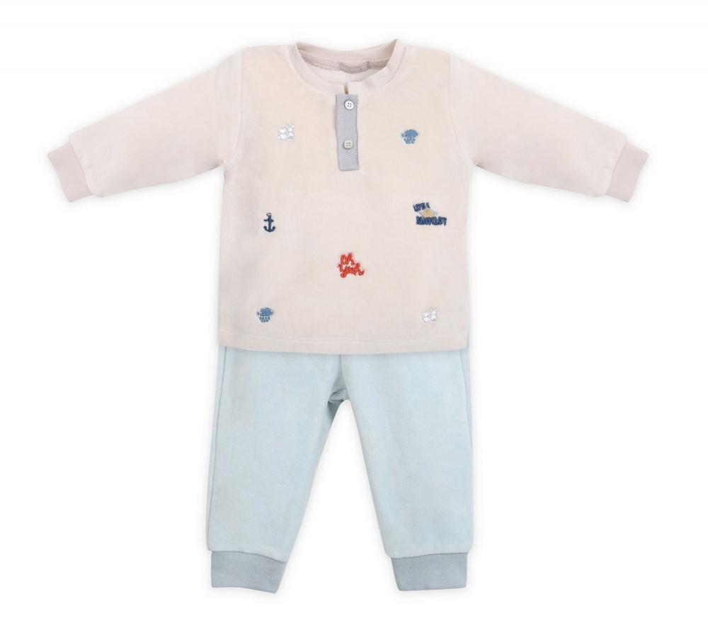 Купить МЛ373385, Комплект одежды RBC, цв. бежевый р.68,