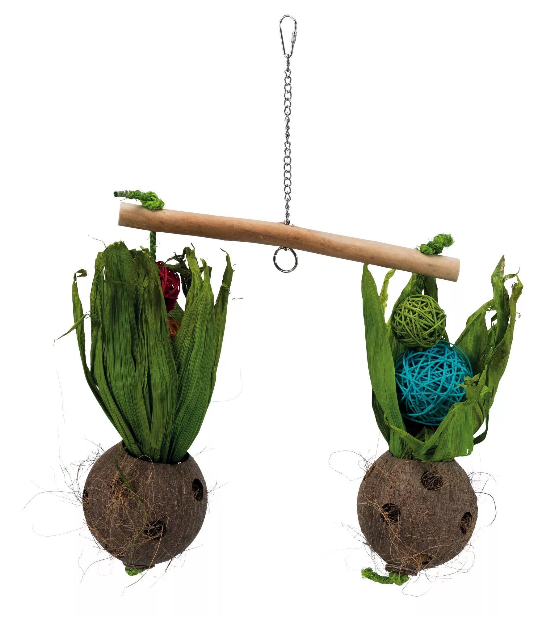 Качели из кокоса, для птиц Trixie, 30x50
