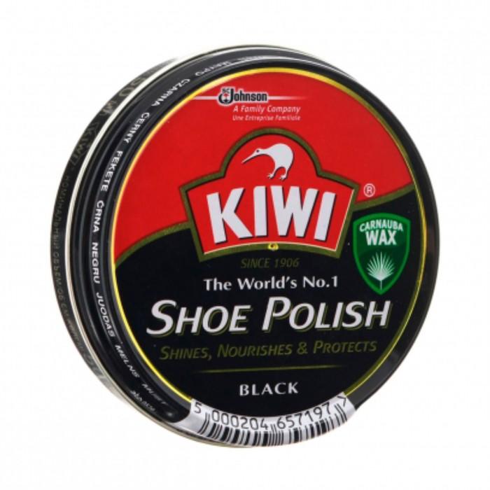 Крем для обуви Kiwi в банке черный