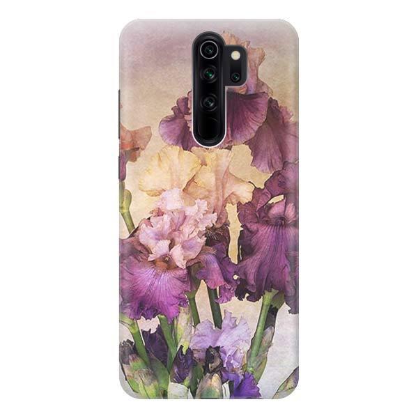 Чехол Gosso Cases для Xiaomi Redmi Note 8 Pro «Фиолетовые цветы»