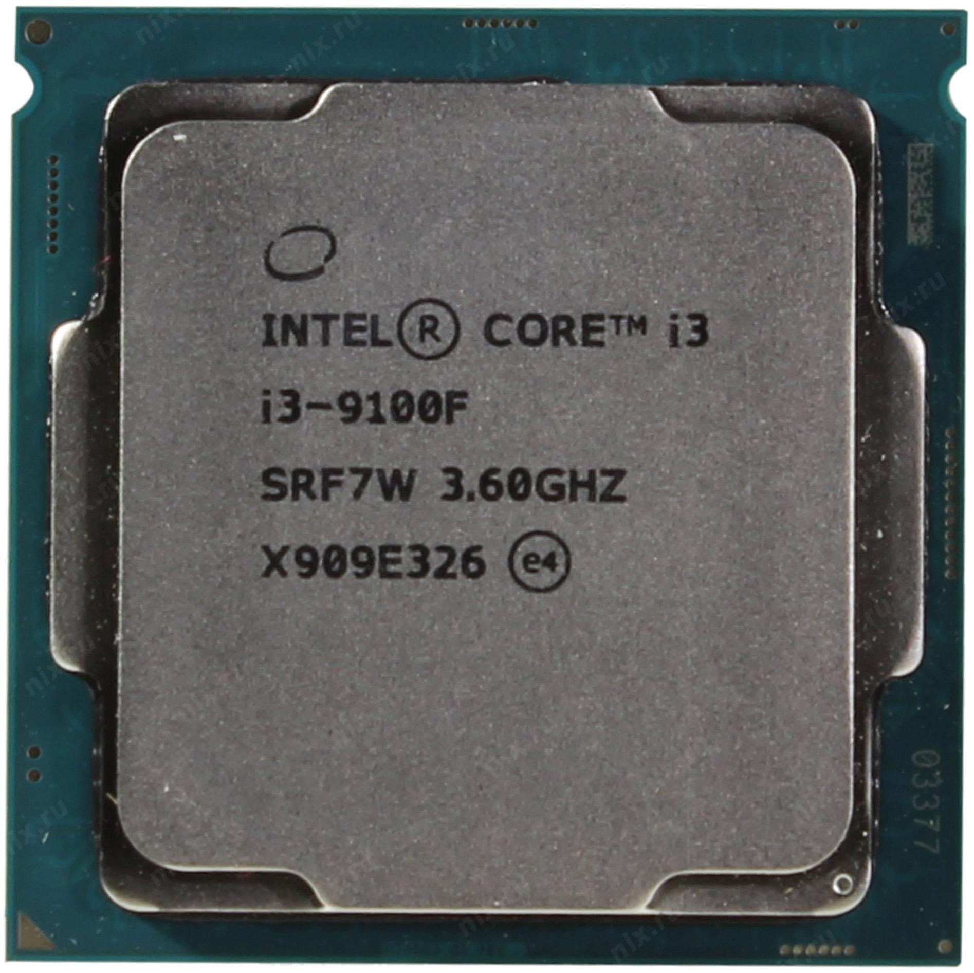 INTEL BX80684I39100F S RF7W