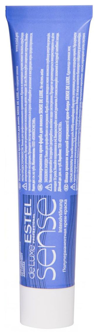 Краска для волос Estel Sense De Luxe 10/66 светлый блондин фиолетовый 60 мл