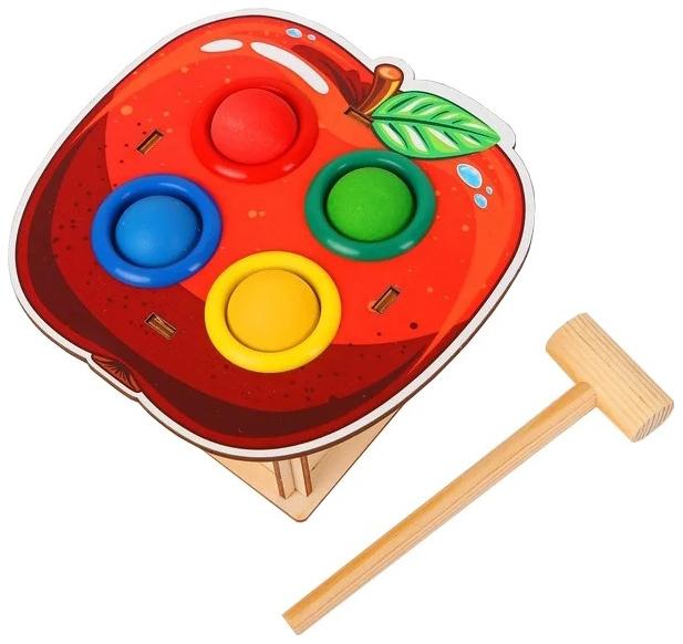 Развивающая игрушка Woodland Стучалка Яблоко 115307