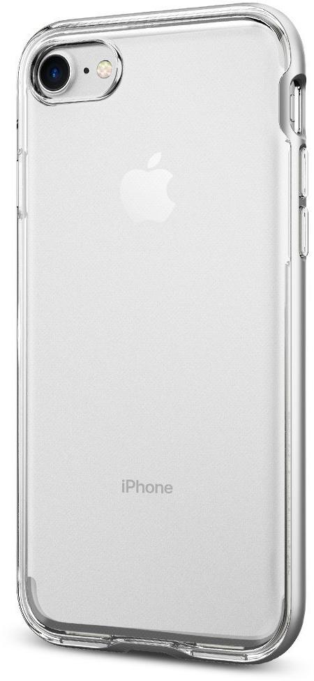 Чехол Spigen Neo Hybrid Crystal для Apple iPhone 7 Satin Silver (042CS20676)
