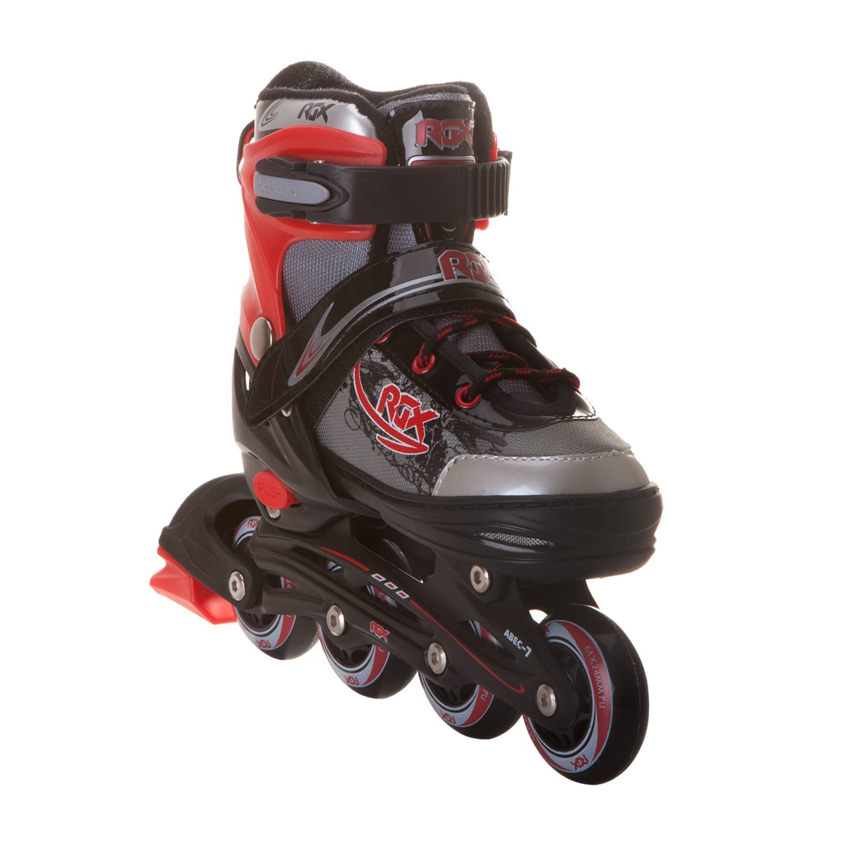 Раздвижные роликовые коньки RGX Braman Red S 30-33