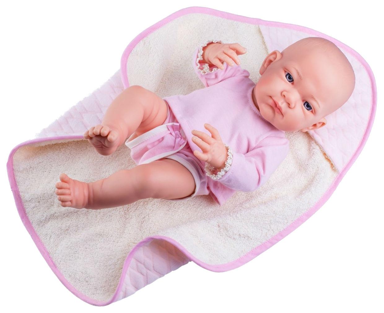 Купить Кукла Бэби в розовом, 36 см, Paola Reina, Классические куклы