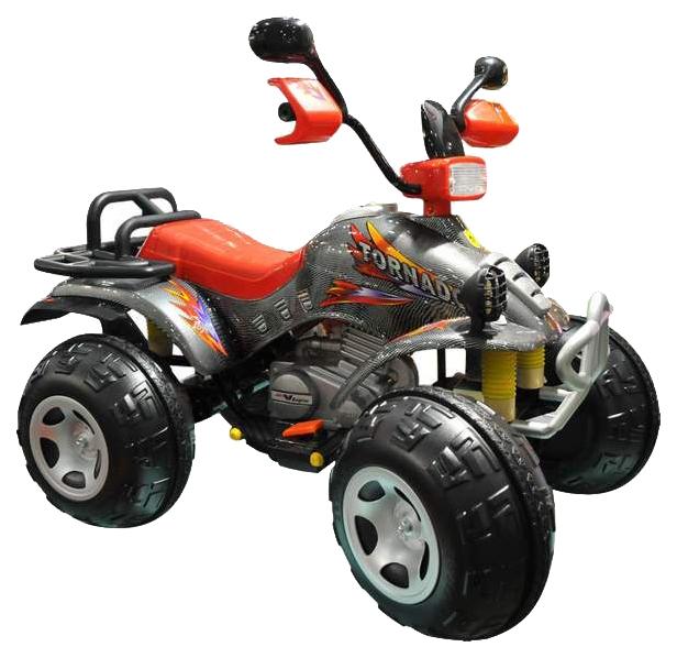 Детский квадроцикл TCV 636 Tornado II Carbon, цвет: карбон, арт. TCV-636, Электромобили  - купить со скидкой