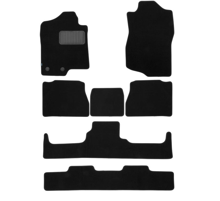 Коврики в салон Klever Premium для CADILLAC Escalade 2007-2014, 7 шт. текстиль, бежевые