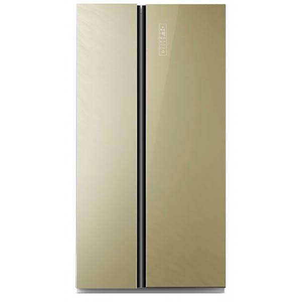 Холодильник Zarget ZSS 615BEG Beige
