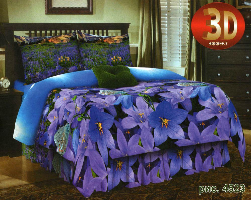Комплект постельного белья Avrora Texdesign Бязь Люкс 4523, семейный