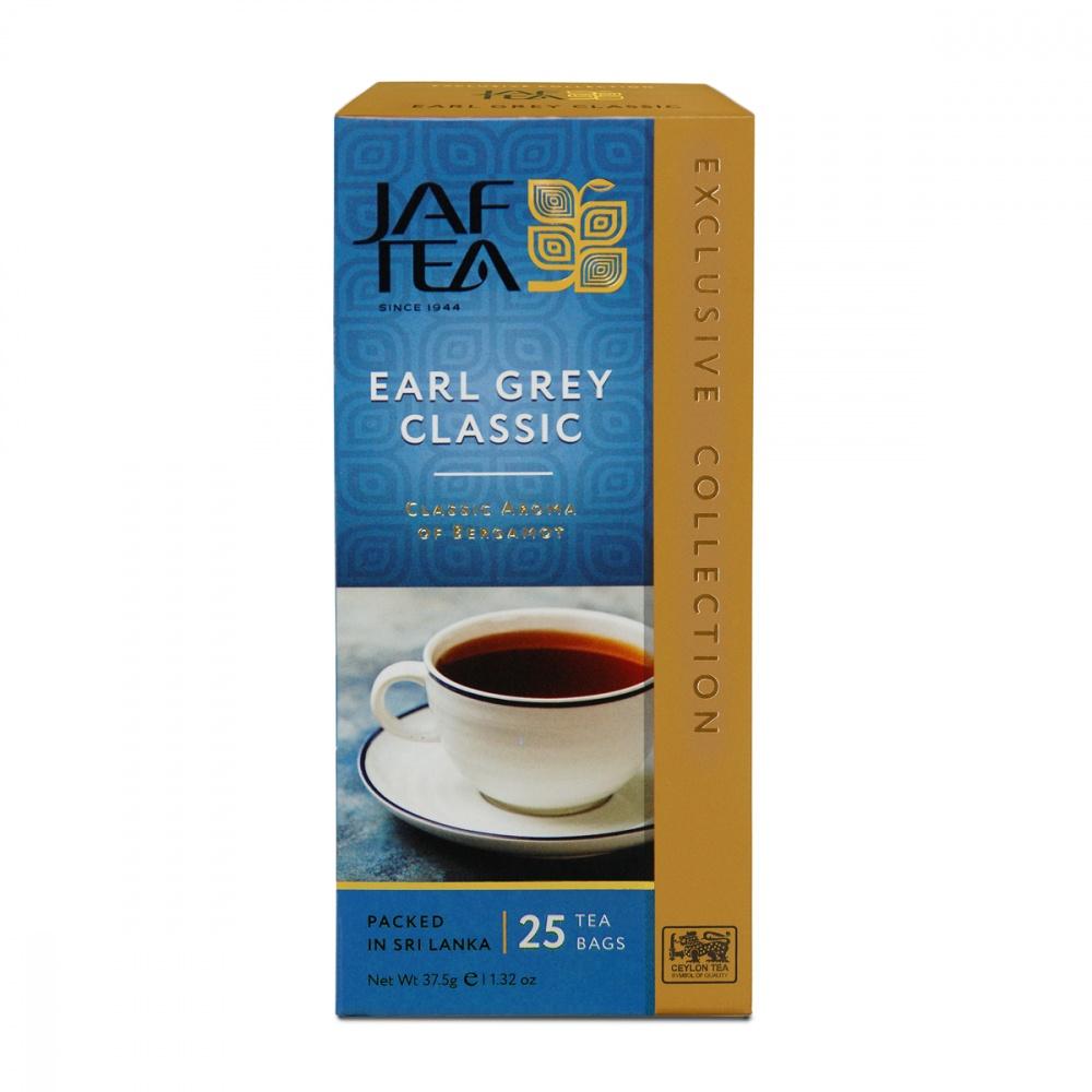Чай Jaf Tea Earl Grey Classic черный с бергамотом 25 пакетиков фото
