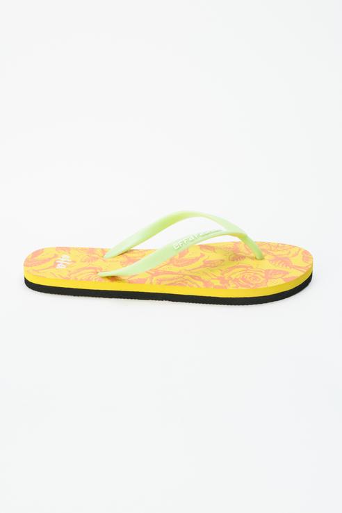 Шлепанцы женские Effa 52357 желтые 36 RU