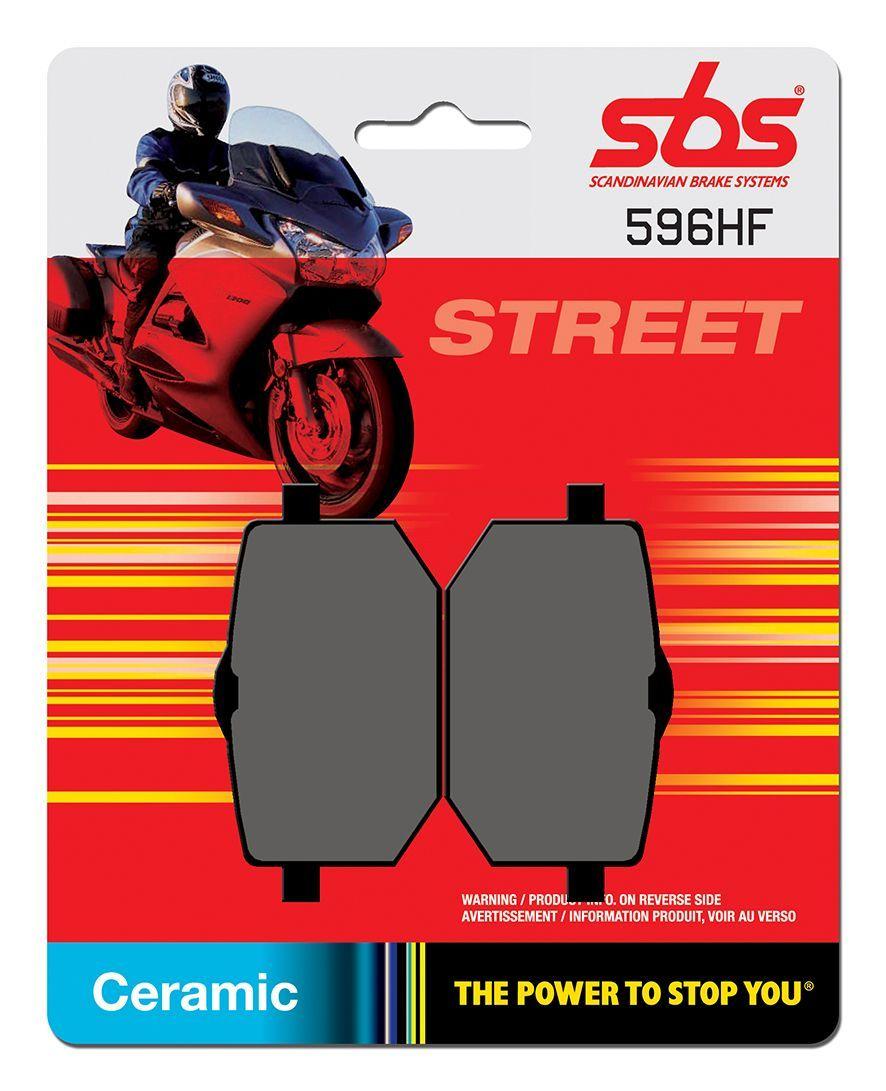 Тормозные колодки передние/задние SBS 596HF для мотоциклов