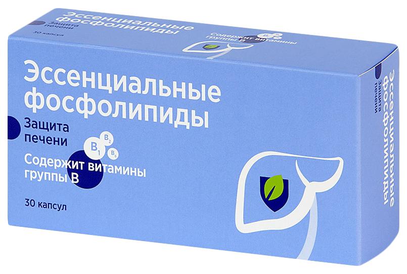 Эссенциальные фосфолипиды PL капсулы 30 шт.