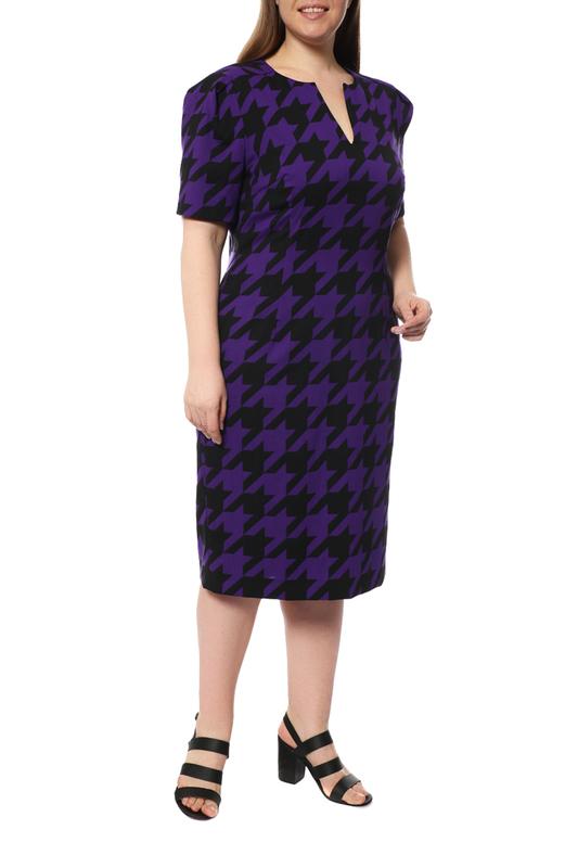 Платье женское ESCADA 5013532 A518 фиолетовое 40 DE фото