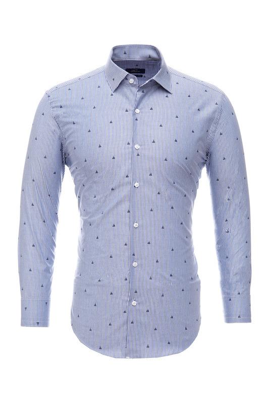 Рубашка мужская BAWER RZ2112078-02 голубая S