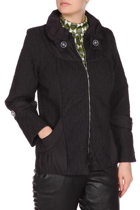 Куртка женская LAFEI-NIER IQ896-JF черная 4XL