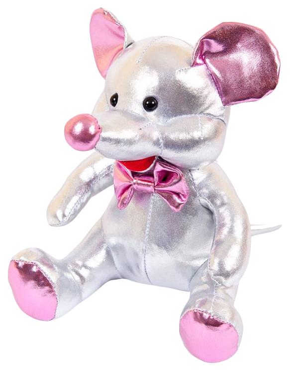 Купить Мягкая Игрушка Abtoys Металлик Мышка M2056, Мягкие игрушки животные