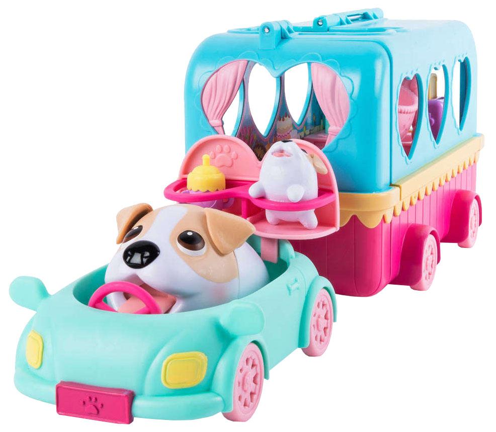 Купить Игровой набор Spin Master Chubby Puppies Упитанные собачки Фургон для кемпинга, Игровые наборы