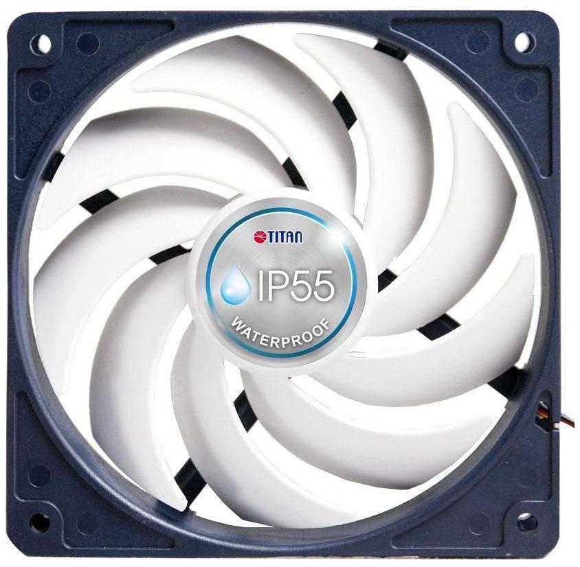 Корпусной вентилятор Titan TFD 14025H12B/KW(RB)