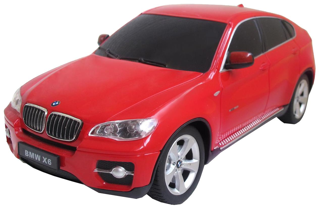 Радиоуправляемая машинка Rastar BMW X6 красная 31700R