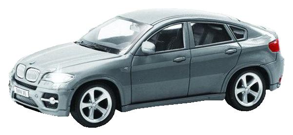 Купить Машина металлическая RMZ City 1:43 BMW X6 без механизмов, серый, Коллекционные модели
