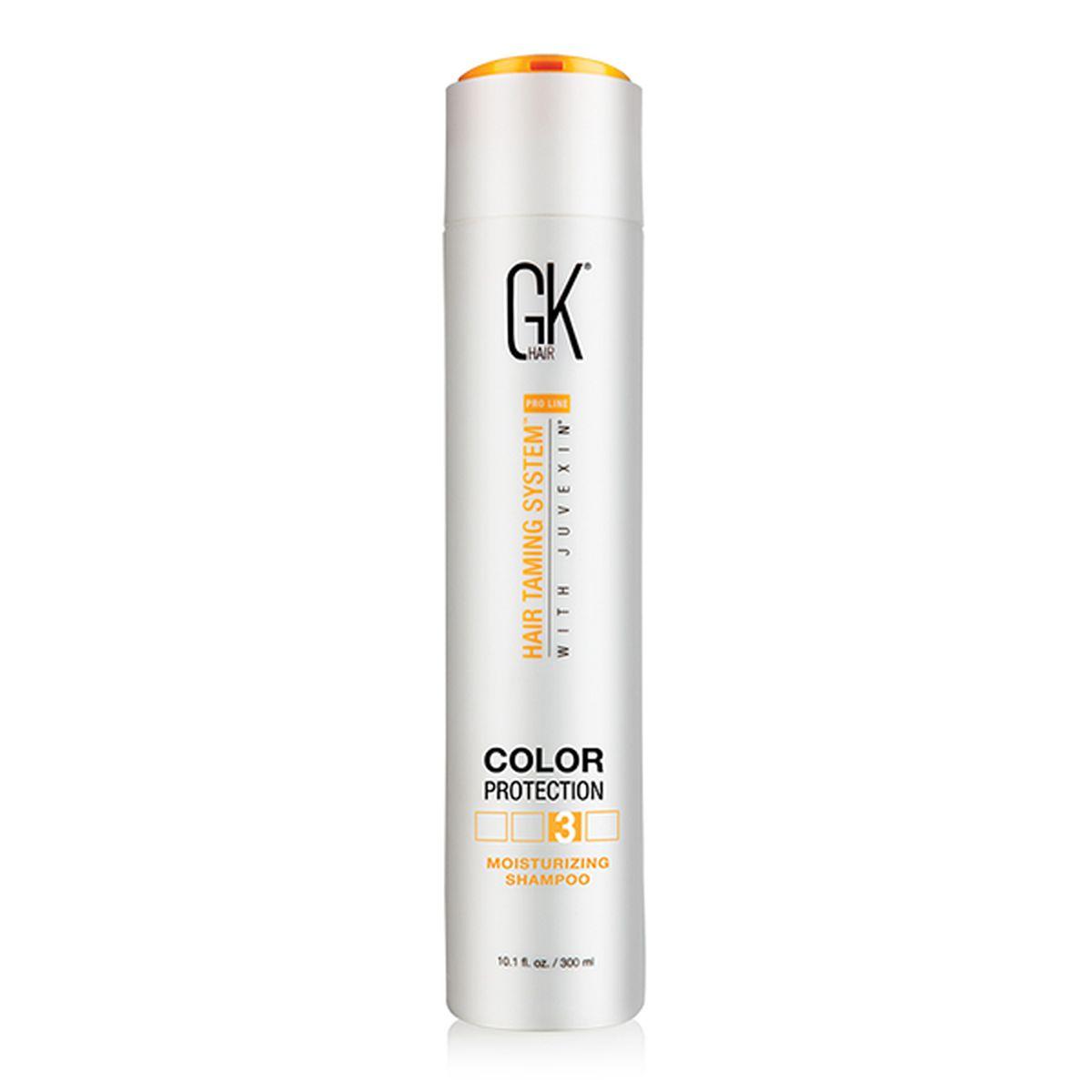 Купить Шампунь GKhair защищающий цвет волос Moisturizing Shampoo 300 мл, Global Keratin