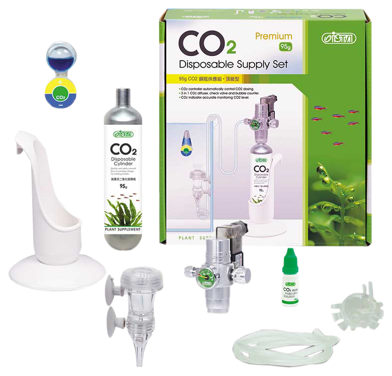 Система CO2 для аквариума Ista Premium