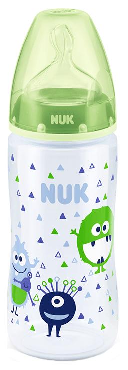 Детская бутылочка NUK First Choice Plus 300 мл с соской М р-р 1 МЗ