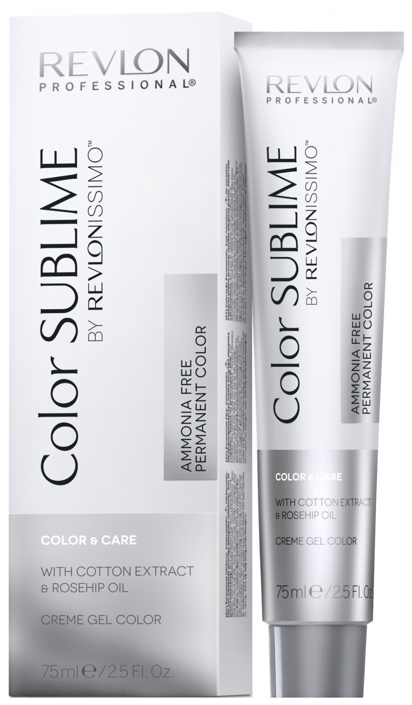 Краска для волос Revlon Professional Revlonissimo Color Sublime 7.4 блонд медный 75 мл