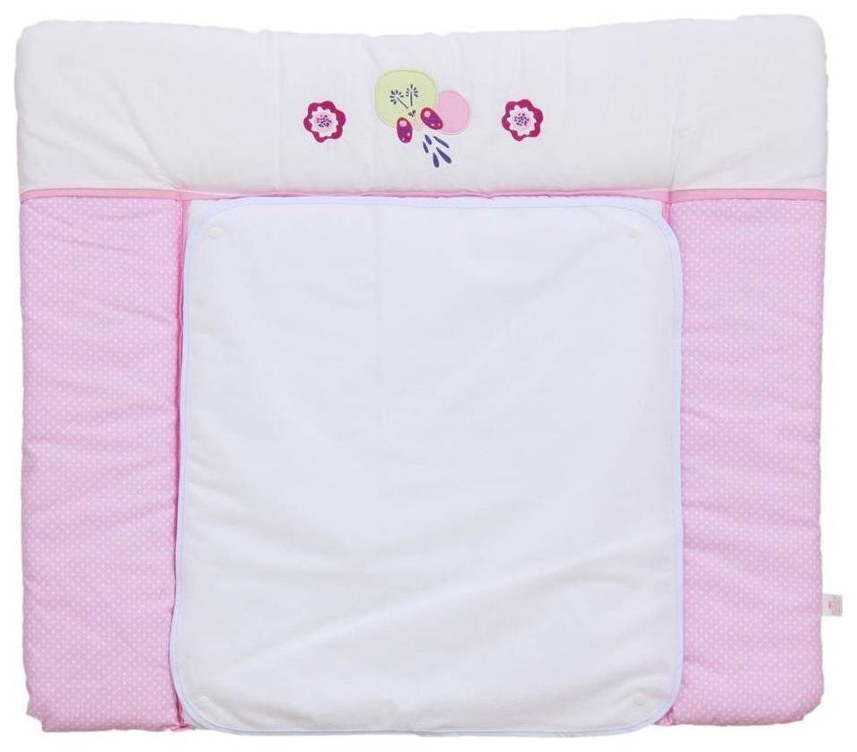 Пеленальная доска Polini Kids Joy Весенняя Мелодия розовый