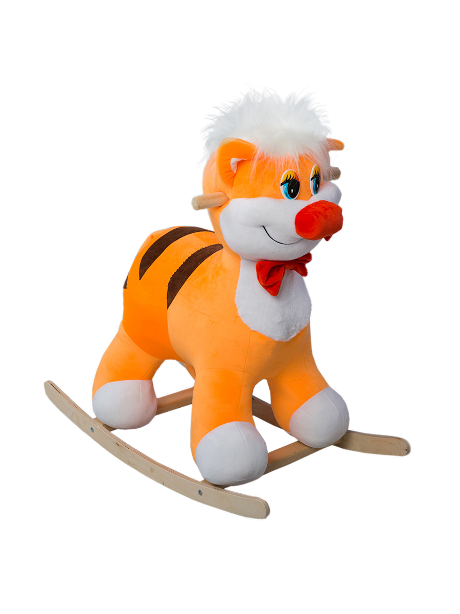 Купить Качалка ToysGo Кот оранжевый, Качалки детские